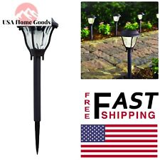 Bronze Outdoor Led Path Light with Water Patterned Lens (6 Pack) Garden Lamp