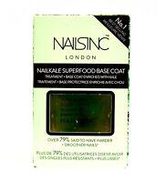 NAILS INC NailKale Nourishing SUPERFOOD BASE COAT .47 Oz  NEW FREE SAME DAY SHIP