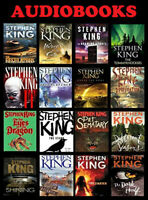 Stephen King MP3 AUDIOBOOKS 67 Book Collection 1974-2012 Unabridged