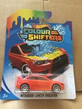 HOT WHEELS Colour Shifters - Mitsubishi Lancer Evolution - Combined Postage