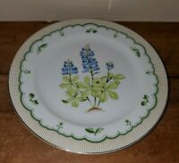 Vintage Texas Bluebonnet Plate From The Private Collection Of Georges Briard
