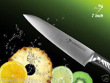 """Handmade Japanese vg10 Steel Chef's knife 7"""" Polishing Blade Utility Slicer"""