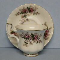 Royal Albert Vintage Bone China Lavender Rose Tea Cup and Saucer
