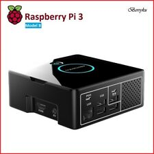 DIY Pi Desktop Computer Case w/ Berryku Fan Kit - Raspberry Pi 3/2 (Case Only)