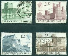 Great Britain Sg1410-1413, Scott # 1230-1233 Set Used, Great Price!