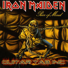 Iron Maiden Digital Guitar Tab PIECE OF MIND Lessons on Disc Murray Smith