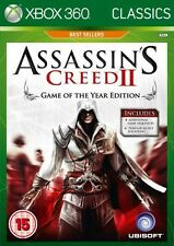 Assassin's Creed II -- Game of the Year Edition (Classics) (Microsoft Xbox 360,…