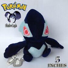 """Shadow Lugia Dark Pokemon Plush Soft Toy Nintendo Stuffed Animal Collectible 5"""""""