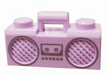 LEGO - Minifig, Utensil Radio Boom Box with Handle - Lavender