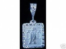 Look Libra scales Pendant Zodiac Charm Ancient Carving Solid sterling silver jew