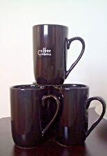 original 4 set server gold Art Vintage coffee cup mug Retro Porcelain gift idea