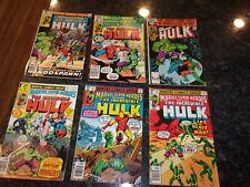 Marvel Super Heroes -The Incredible Hulk - Lot Of 6 - #80, 83, 84, 94, 103, 251