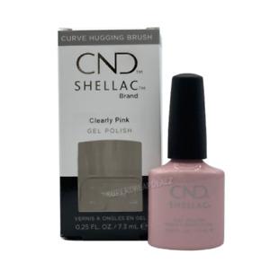 CND Shellac Color Coat Base / Top UV LED Gel Nail Polish 0.25oz CHOOSE AUTHENTIC