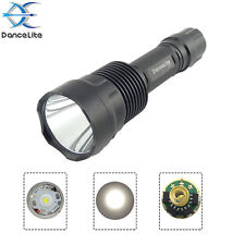 DanceLite C12 CREE XM-L2 U3 10W 10x7135 3500mAh 1MODE LED Hunting Flashlight