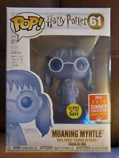Funko Pop! Harry Potter Moaning Myrtle #61 GITD 2018 SDCC Hot Topic Exclusive H6