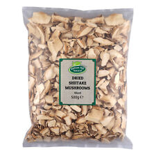 Dried Sliced Shiitake Mushrooms 500g