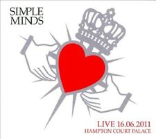 (1B2)  New SIMPLE MINDS Live 2011 London Hampton Court Palace 2 CDs