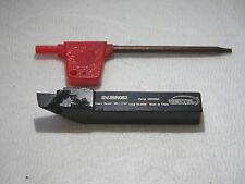 "Hertel Indexable Turning Toolholder 5//8/"" x 5//8/"" RH Positive Rake SDJCRF103B"