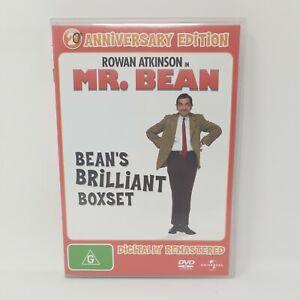 Mr Bean - Bean's Brilliant Box Set (4 Discs) - Rowan Atkinson - Region 4 DVD