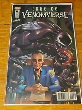 Marvel 2017 Sdcc Edge of Venomverse #2 Stan Lee Collectibles Exclusive Variant