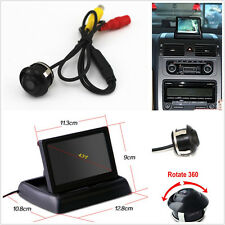 Wide Angle 360°Rotatable Car Reverse Camera Kit & Colour LCD Monitor For Holden