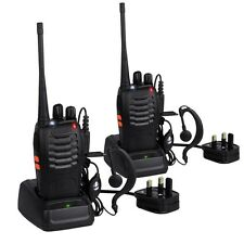 Prozor pst-888s 2 pz Professional LONG RANGE RICARICABILE Walkie Talkie NUOVO