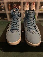 Nike Men's Air Jordan 7 Retro Basketball Sneakers Blue White Size 11.5