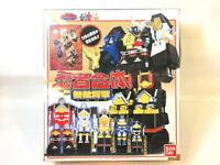 BANDAI Power Ranger Ninja Sentai Kakuranger DX Chogokin Muteki Shogun USED