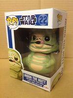 FUNKO POP! Star Wars Jabba The Hutt #22 Bobble-Head Vinyl Figure *New* RETIRED