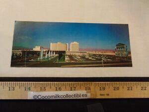 Vintage 1966 Large Postcard Caesars Palace Hotel Casino Las Vegas NV Sign Front