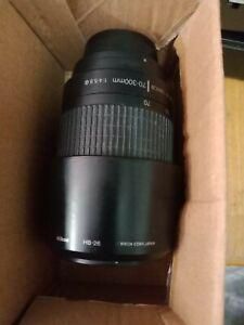 Nikon AF-P DX Nikkor 70-300mm f/4.5-6.3G Original Packing  Camera Lens