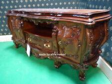 Bespoke Toute Couleur/Taille Baroque Chatelet ® sculpté à la main Acajou Bois Meuble TV