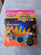 MICRO MACHINES MICRO ROBOTS VEICOLO D'ASSALTO ART.65720 GIG GALOOB 1992 VINTAGE