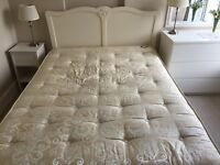 Next Ivory Isabella Double Bed Frame VGC