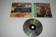 007 Tomorrow Never Dies Sony Playstation PS1 Video Game Complete