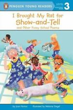 I Brought My Rat for Show and Tell (All Aboard Poetry Reader)-ExLibrary