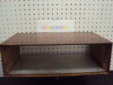 TEAC A-400 Cassette Deck Original Wood Case w/ Screws. Parting Out A-400   Deck