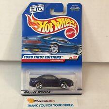 '99 Mustang #909 * PURPLE w/ 3sp & Tan Int * 1999 Hot Wheels * D5