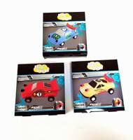 Lot of 12 Sets - Klay Dough DIY Modeling Car Kit Toys – Wind Up Toy