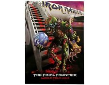 IRON MAIDEN the final frontier WORLD TOUR - 2011 - TOUR POSTER PROGRAMME