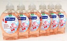 6 Bottles Softsoap Spring Collection 5.5 Oz Cherry Orchard Family Fun Hand Soap