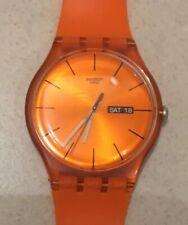 Swatch Suoo700 Pumpkin Rebel