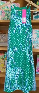 NWT Lilly Pulitzer Pearl Romper Emerald Isle On The Prowl Size 0  (26038B)