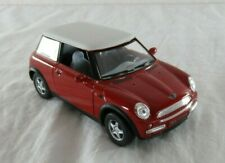 Mini Cooper Die-Cast Car Vehicle Kinsmart Opening Doors 1/28 Scale