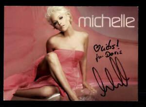 Michelle AK Tabu Autogrammkarte original handsigniert