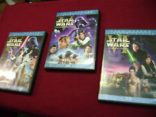 STAR WARS IV V VI LIMITED EDITION THEATRICAL VERSIONS DVD 4,5,6 ** FULL-SCREEN