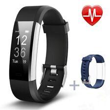 Fitness Tracker, pruvansay Activity Tracker moniteur de fréquence cardiaque Smart Free p&p