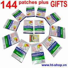 SALONPAS HISAMITSU,12 Packs x12=144 Patches, Muscle, Aches PAIN RELIEF