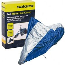 Large Motorcycle Motorbike Moped Cover Rain Protector Storage Waterproof Shelter
