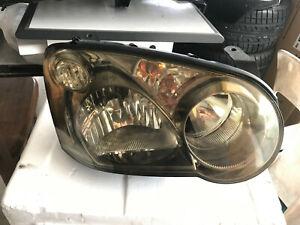 JDM RH RIGHT Subaru Impreza wrx GDb sti v8 HID version 8  headlight gunmetal